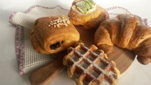 Brioches per la colazione, Panificio Pasticceria Campari