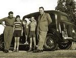 La famiglia Campari negli anni cinquanta