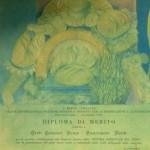 Diploma di merito anni 70