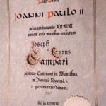 Il Pane del 2000 Joanni Paulo II